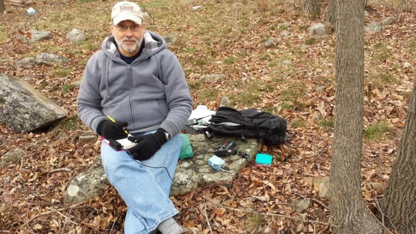Operating along the Appalachian Trail near Catfish Fire Tower