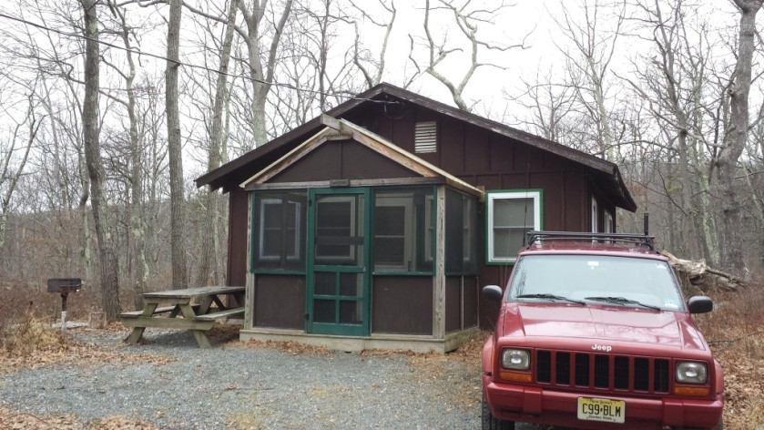 Our home for the weekend at Mohican Outdoor Center