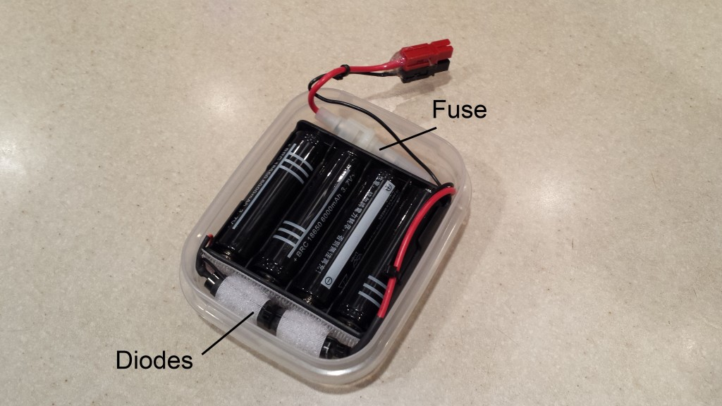 Li-Ion battery pack layout