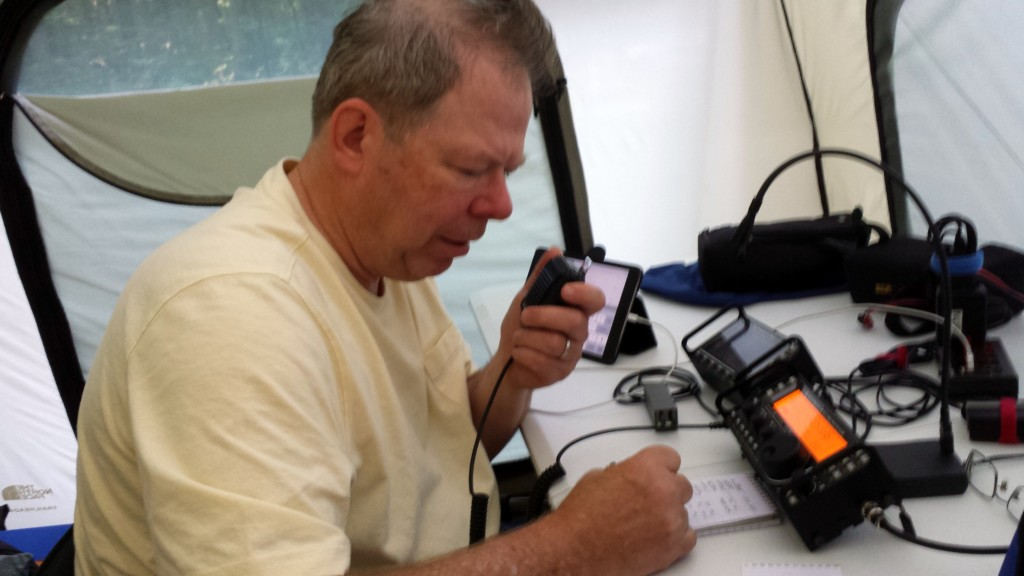 Glen NK1N operating SSB on 40 meters