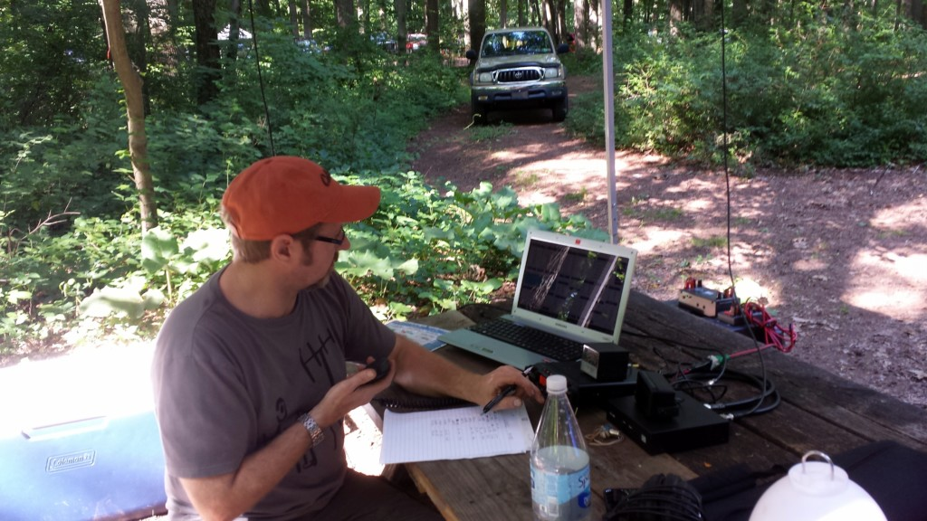 Ron WA8YIH working 20 meters SSB