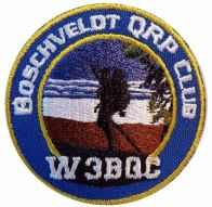 Boschveldt QRP Club patch