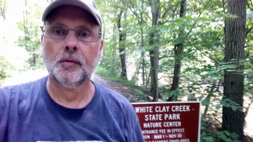 Obligatory selfie at White Clay Creek State Park Nature Center