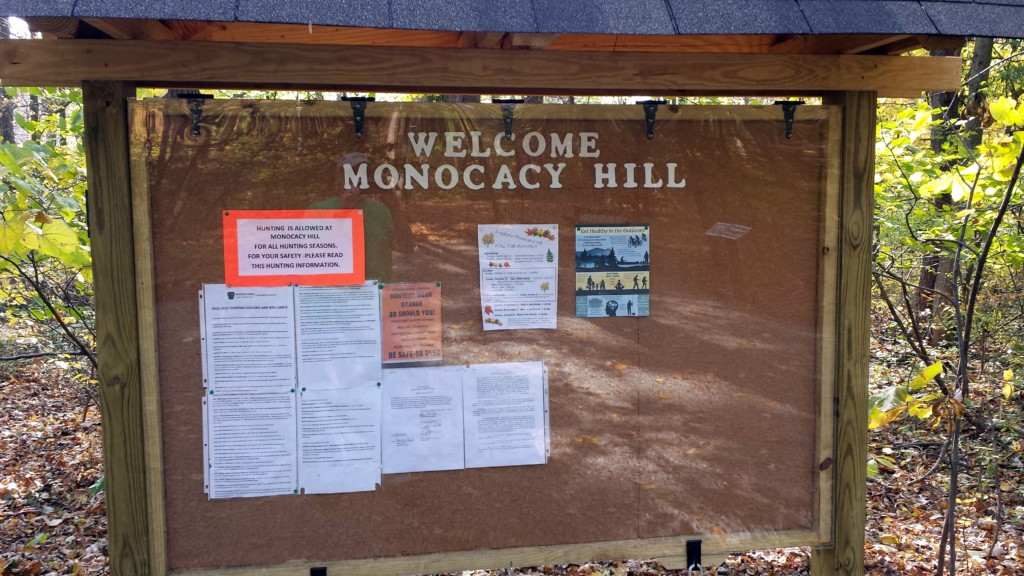 Monocacy Hill Trailhead