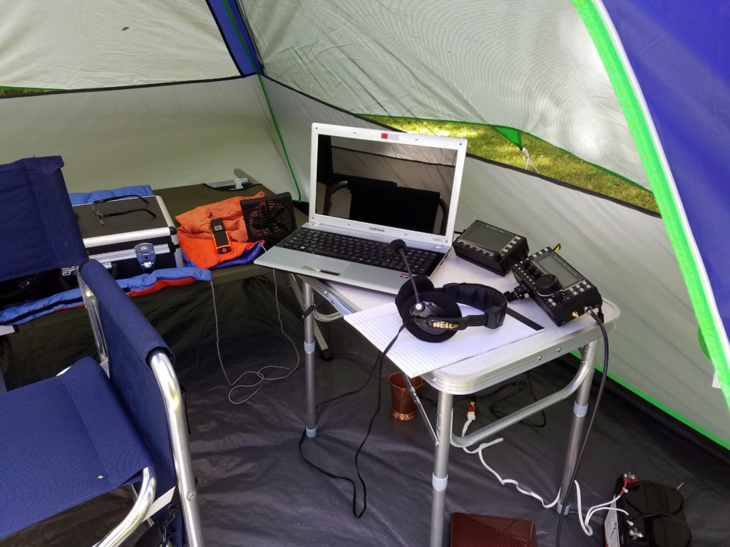 This is Ron WA8YIH's station running SSB and digital.