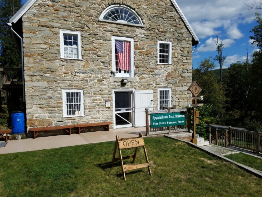 Pine Grove Furnace State Park is also home to the Appalachian Trail Museum. They have some fascinating exhibits on the history of the trail and some of the early hikers.