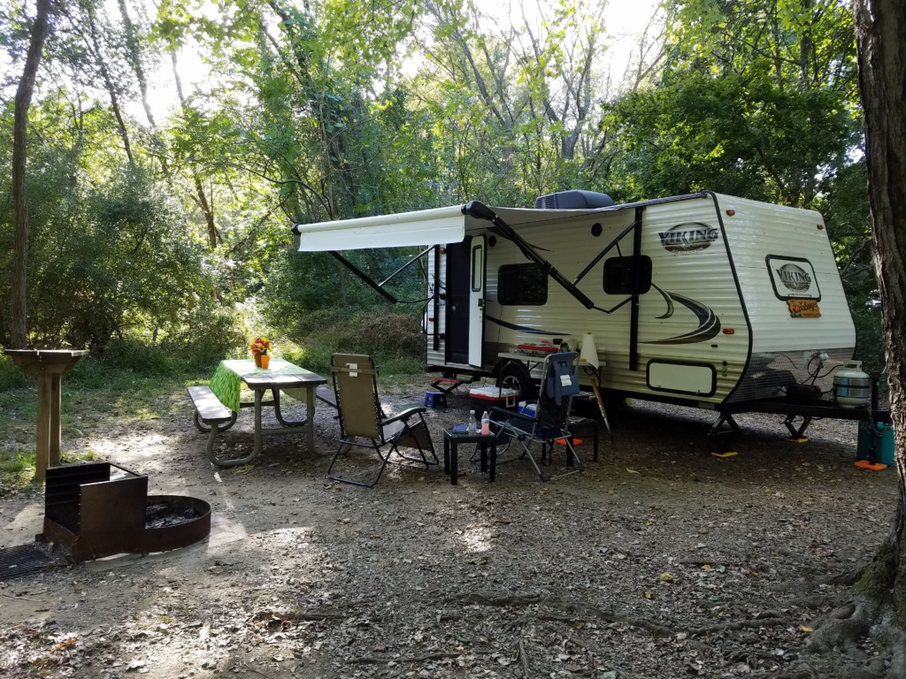 "The WB3GCK ""QRP"" camper at Susquehanna State Park (KFF-1601)"