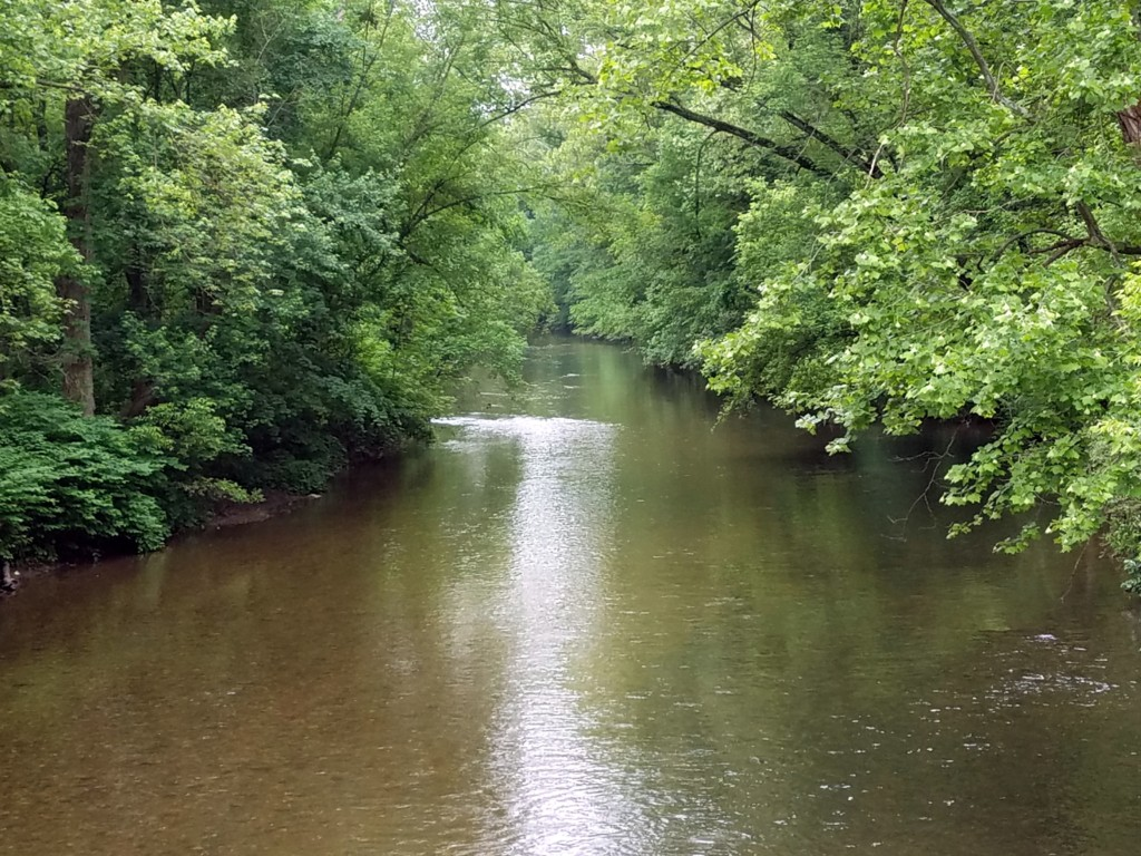 The scenic Brandywine Creek