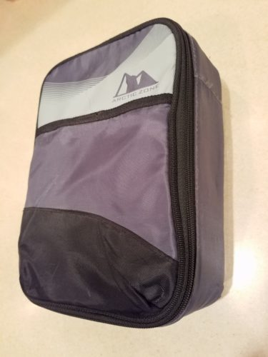 Arctic Zone Upright HardBody® Lunch Box. This one has seen years of use and now holds my KX3 and accessories.