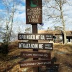 Mohican Outdoor Center is adjacent to the Appalachian Trail and is a popular stopover for hikers