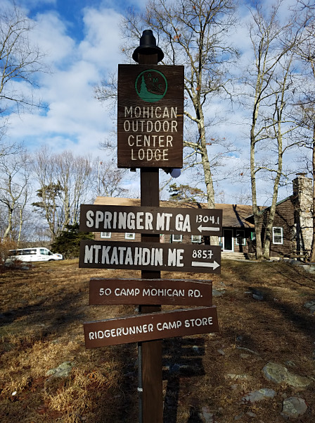 The Mohican Outdoor Center in northern New Jersey is a popular stop along the Appalachian Trail.
