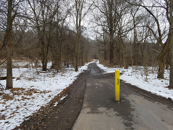 The Upper Schuylkill River Trail at Upper Schuylkill Valley Park
