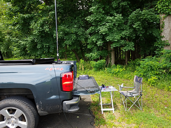 My set up in Valley Forge