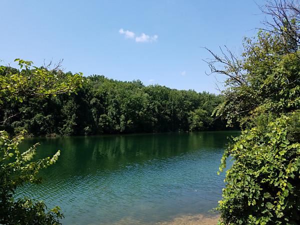 Scenic Lake Marburg in Codorus State Park