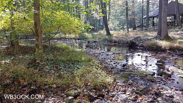 Doubling Gap Creek in Colonel Denning State Park.