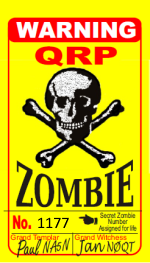 WB3GCK QRP Zombie credentials