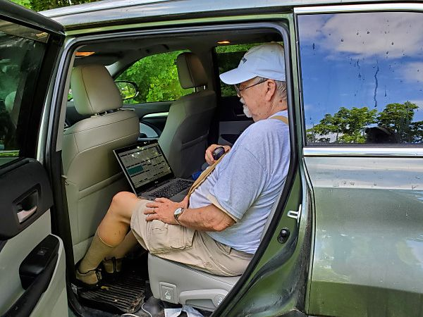 Ed K3YTR operating 2M and 6M SSB and FM